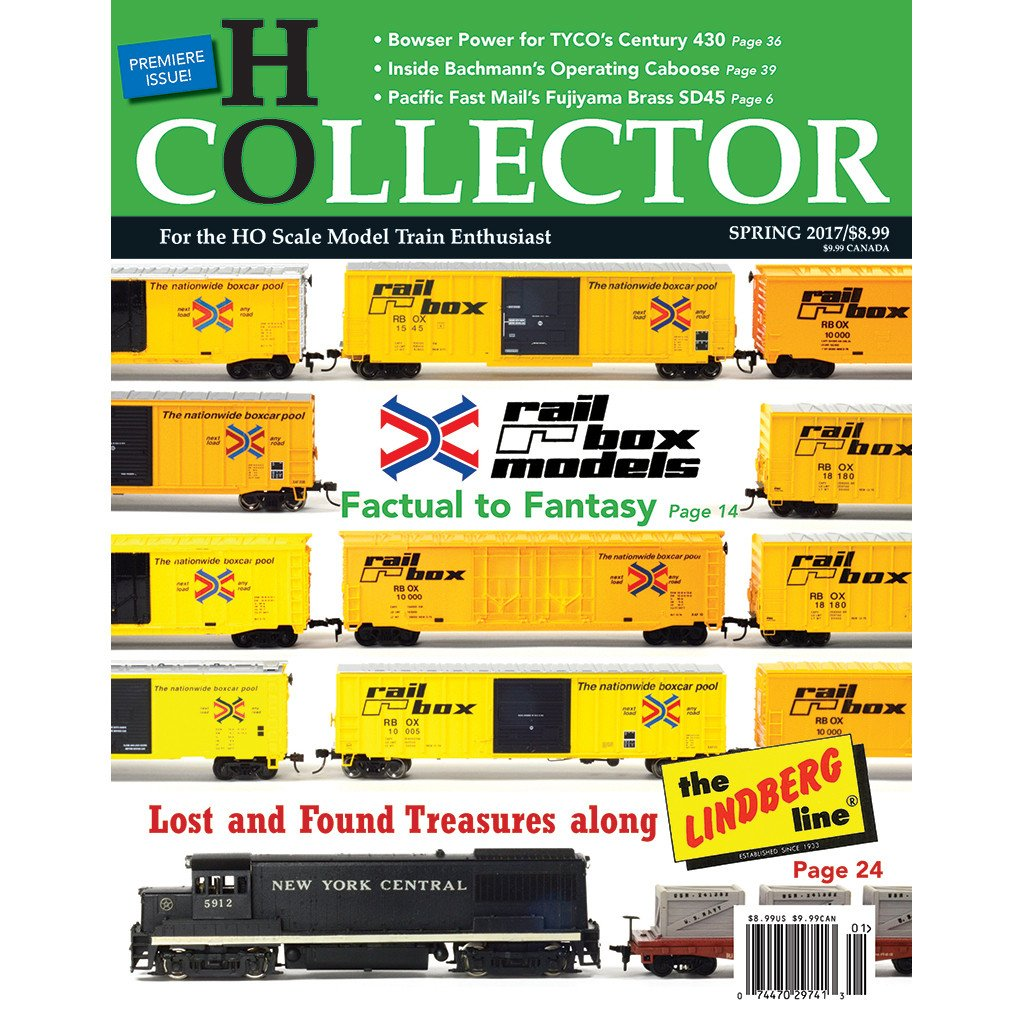 HO Collector Magazine Subscription Cover