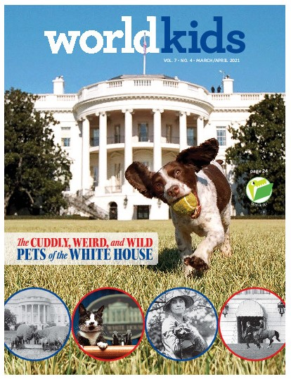 WORLDkids Magazine Cover
