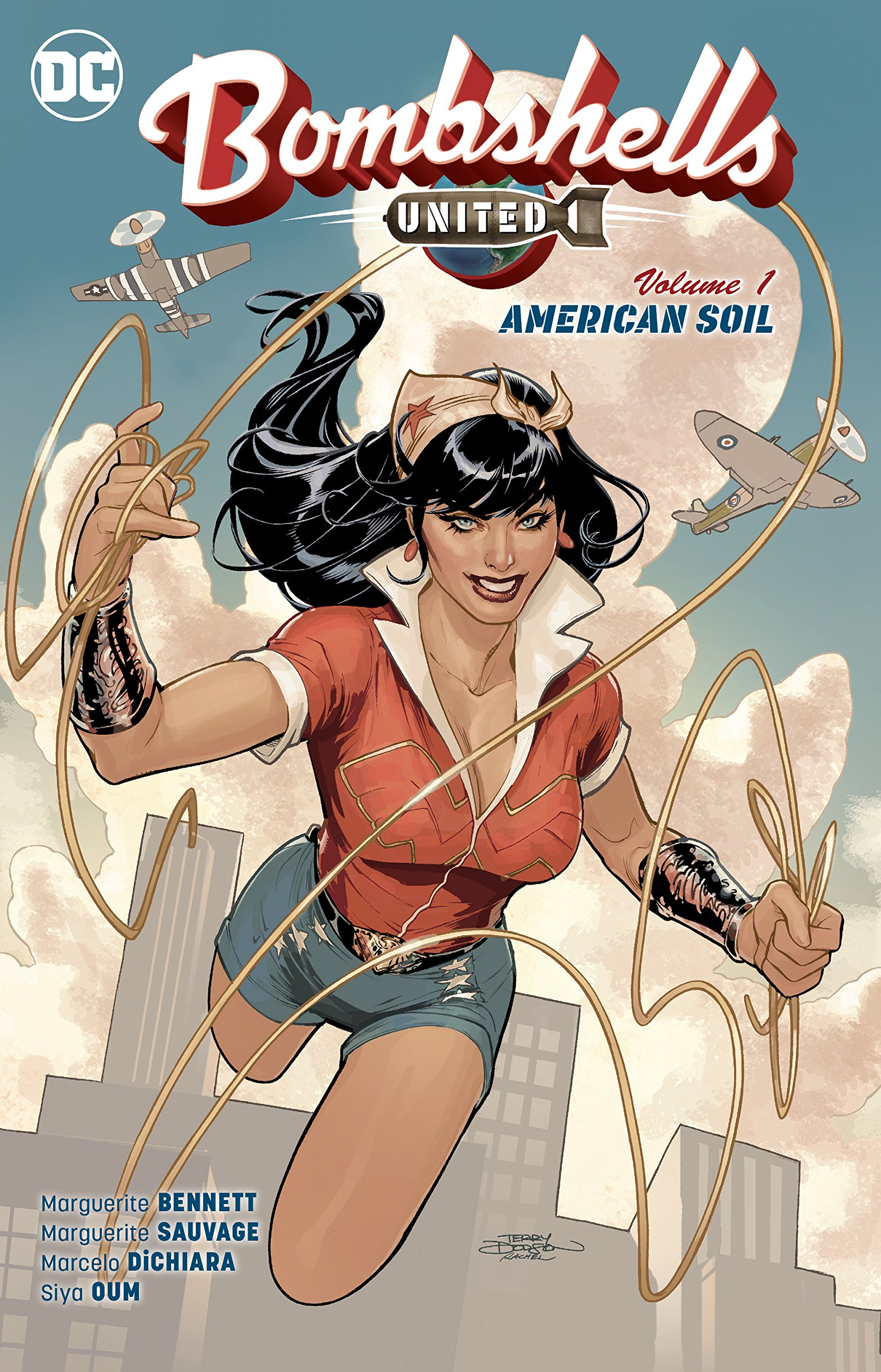 Bombshells United Magazine Cover