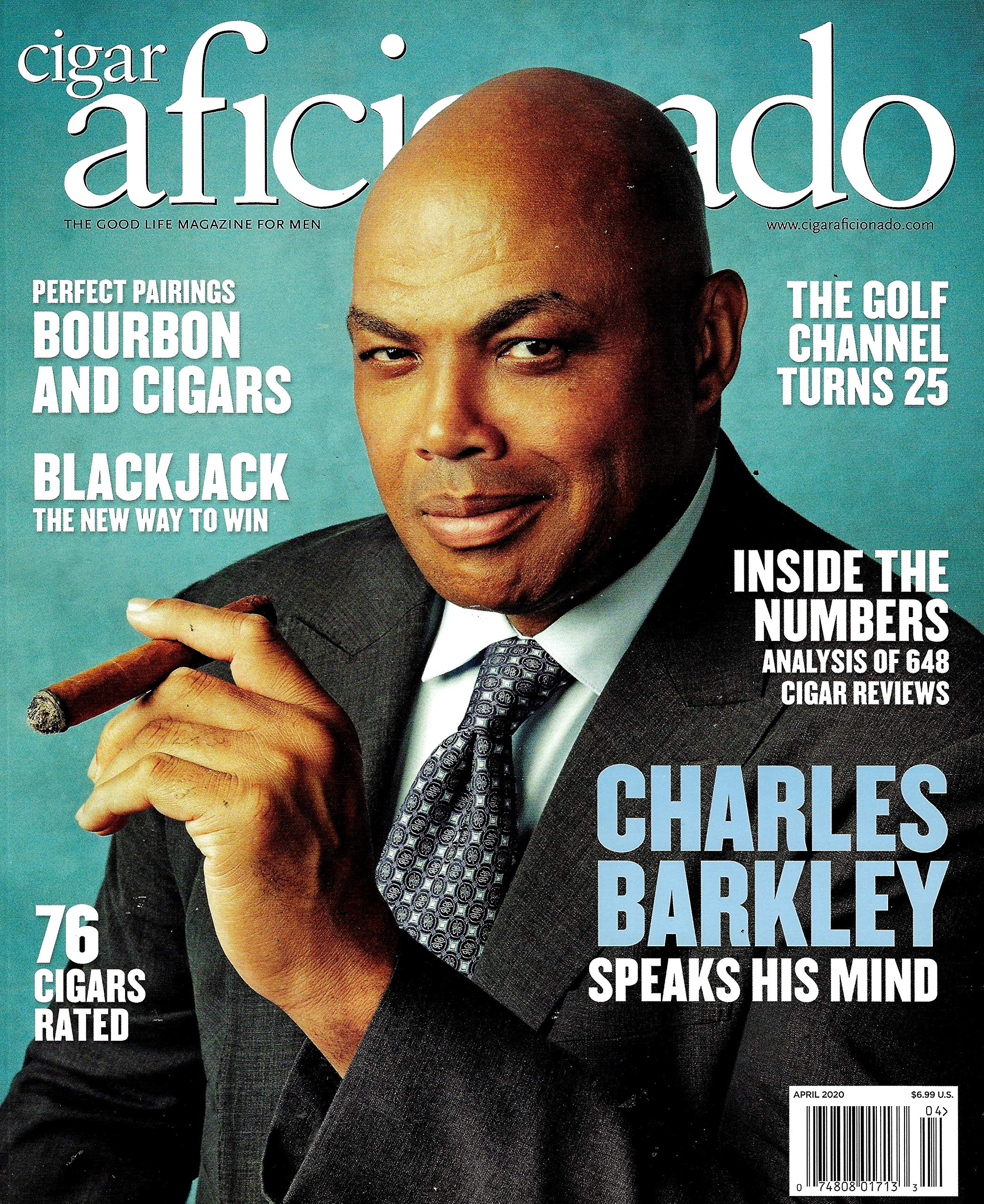 Cigar Aficionado Magazine Cover
