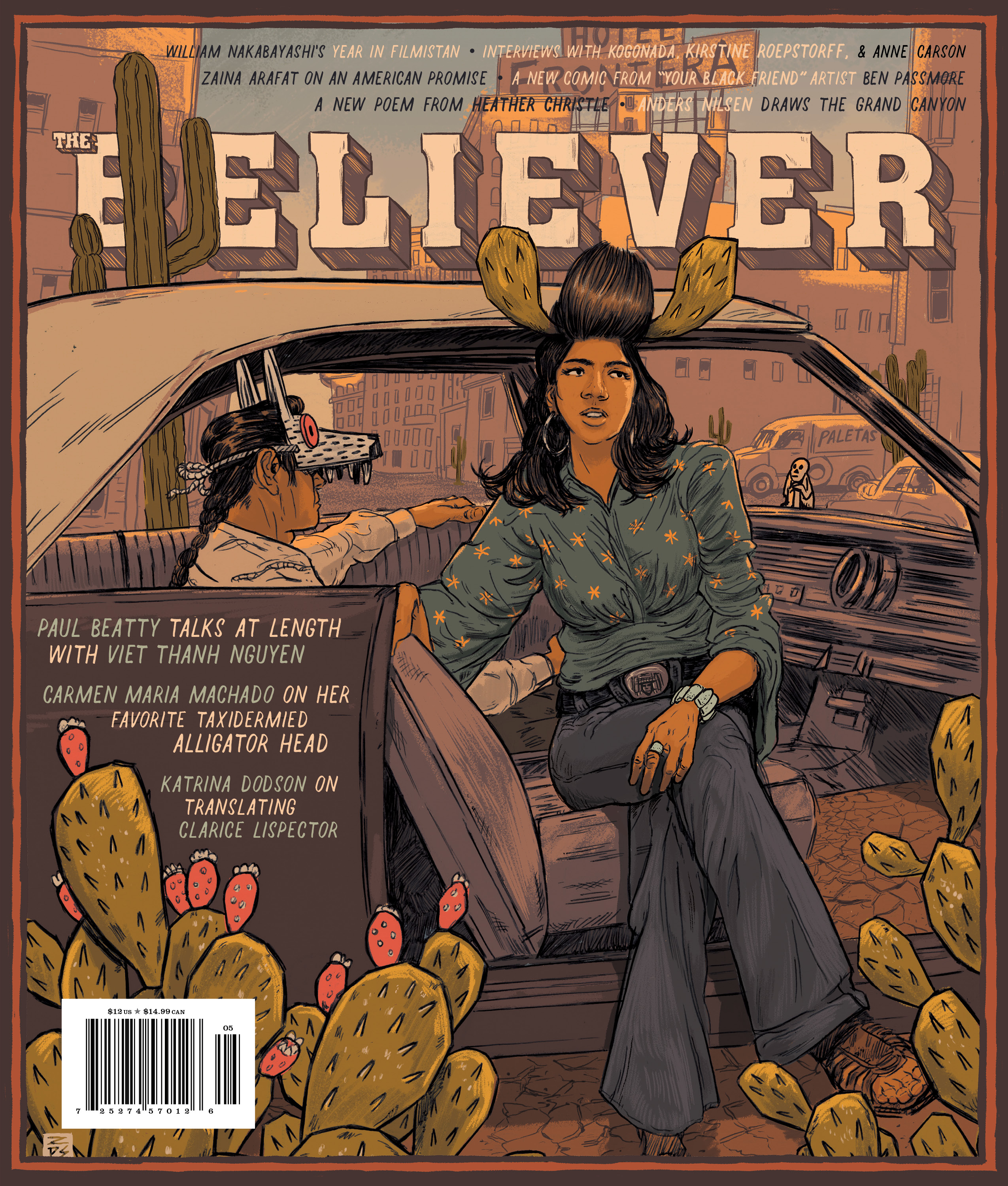 The Believer Magazine Cover