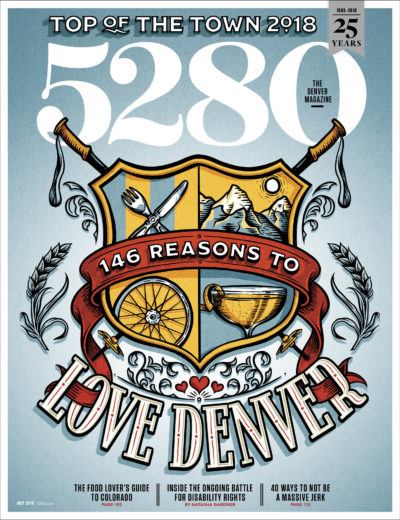 5280 (Denver) Magazine Magazine Cover