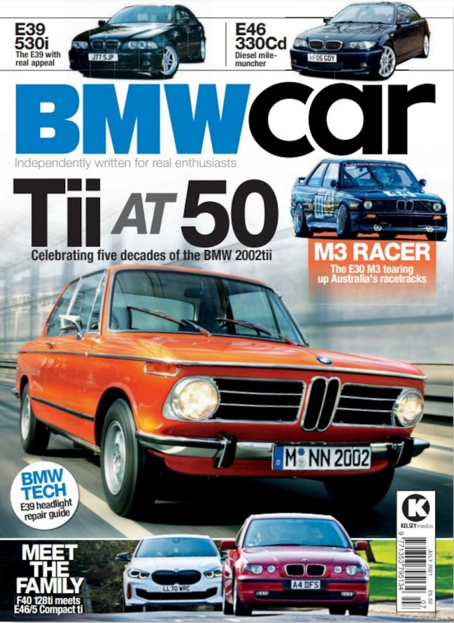 BMW Cars (UK) Magazine Cover