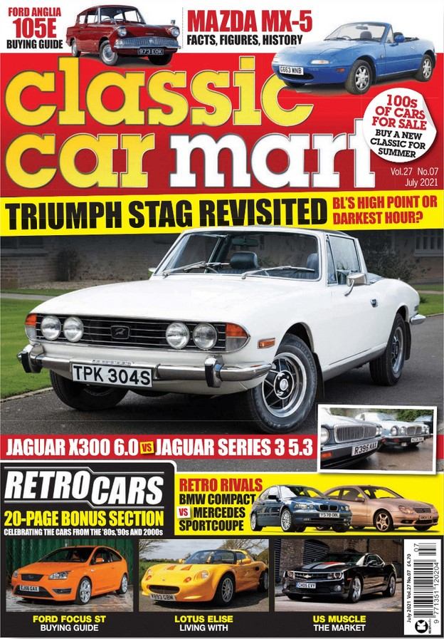 Classic Car Mart (UK) Magazine Cover