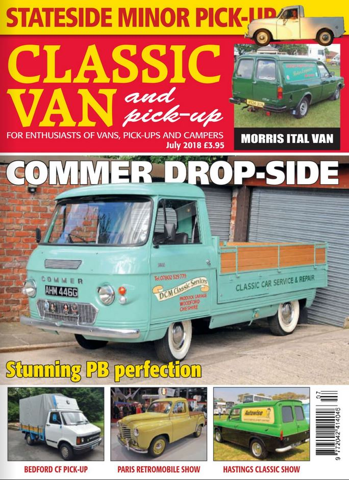 Classic Van & Pick-up (UK) Magazine