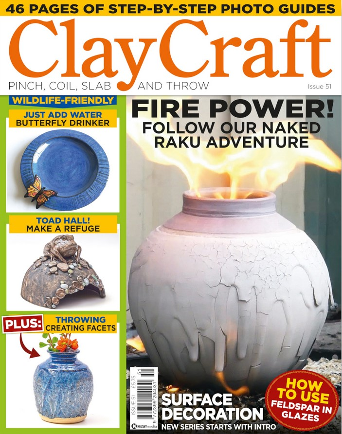 ClayCraft (UK) Magazine Cover