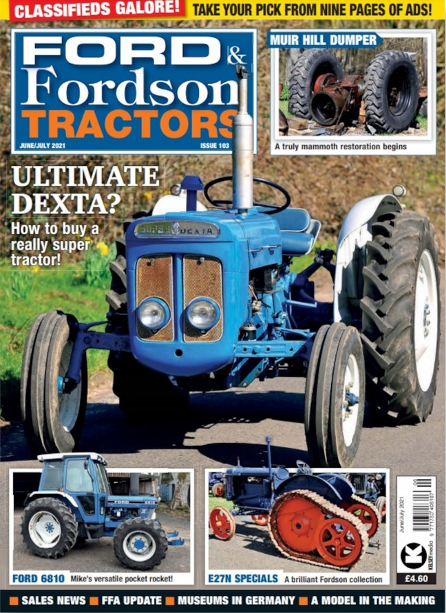 Ford & Fordson Tractors (UK) Magazine Cover