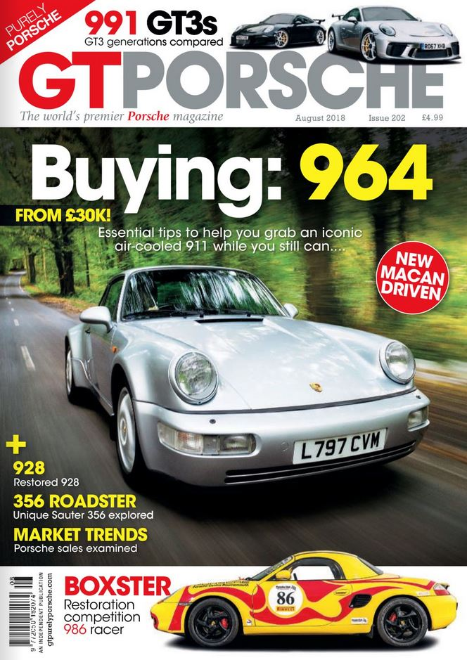GT Porsche (UK) Magazine Cover