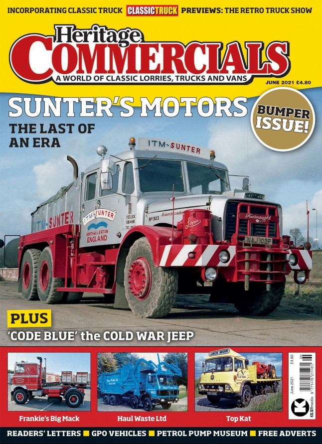 Heritage Commercials (UK) Magazine Cover