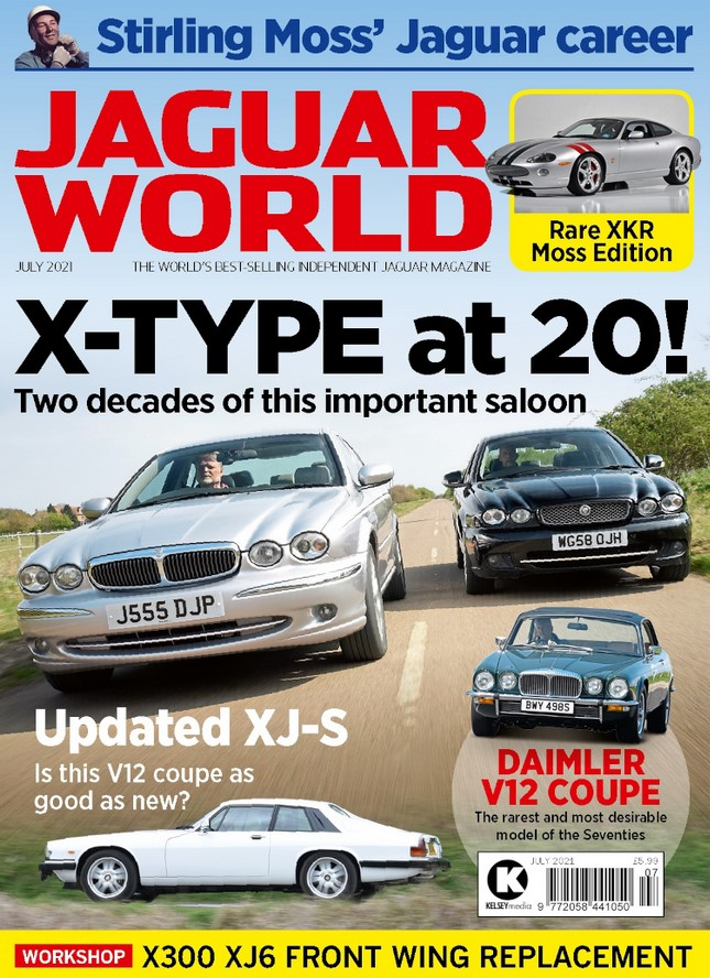 Jaguar World (UK) Magazine