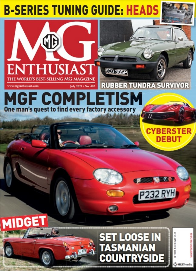 MG Enthusiast (UK) Magazine