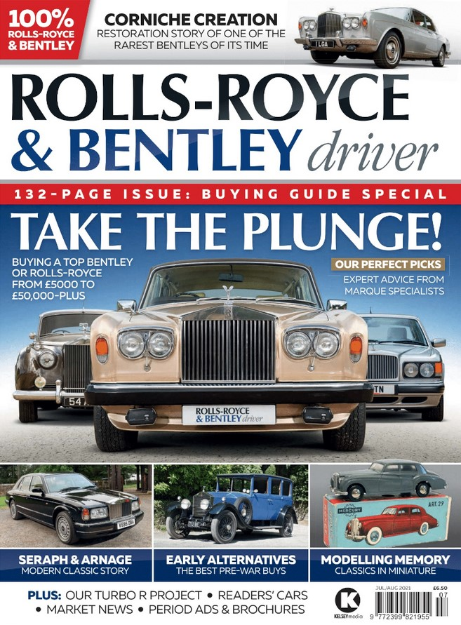Rolls-Royce & Bentley Driver (UK) Magazine