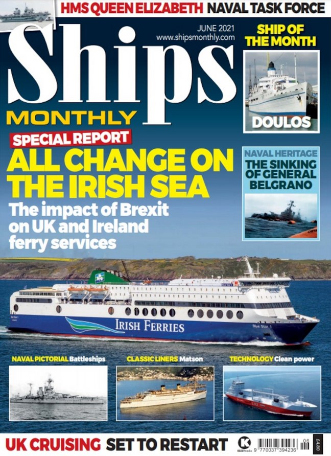 Ships Monthly (UK) Magazine