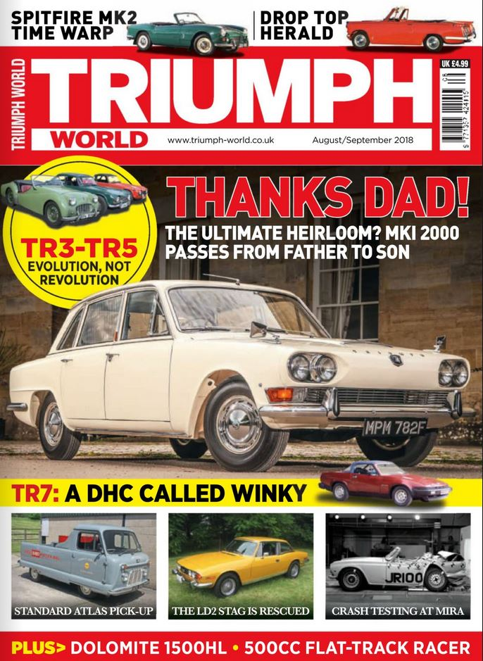 Triumph World (UK) Magazine