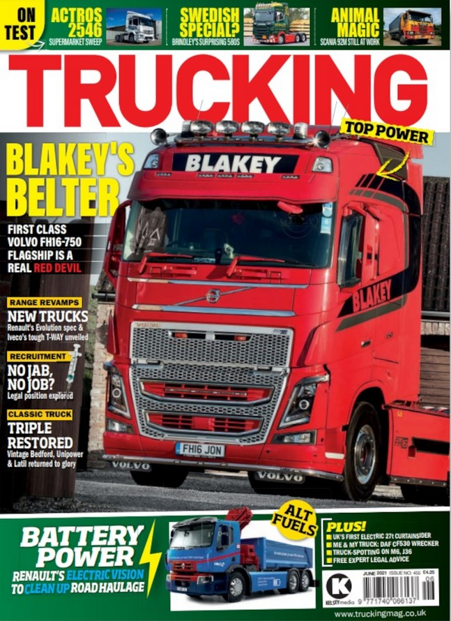 Trucking (UK) Magazine