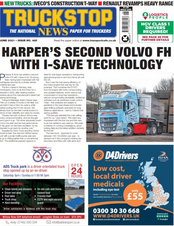 Truckstop News (UK) Magazine