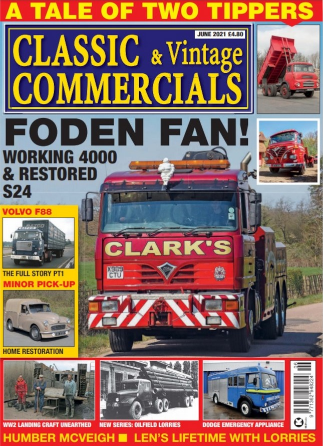 Classic & Vintage Commercials (UK) Magazine