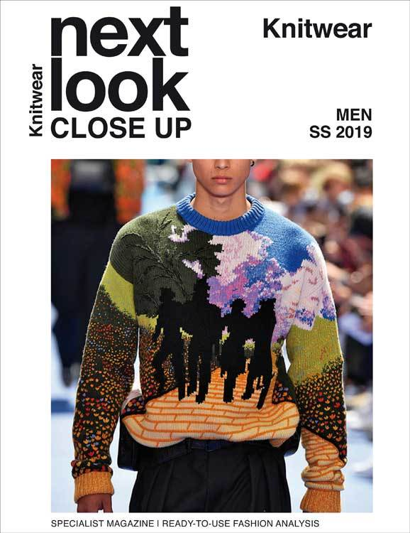 Next Look Close Up Men Knitwear (Italy) Magazine