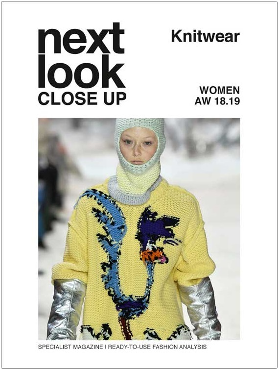 Next Look Close Up Women Knitwear (Italy) Magazine