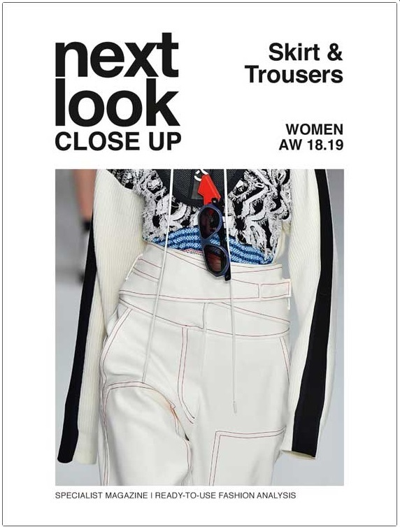 Next Look Close Up Women Skirts + Trousers (Italy) Magazine