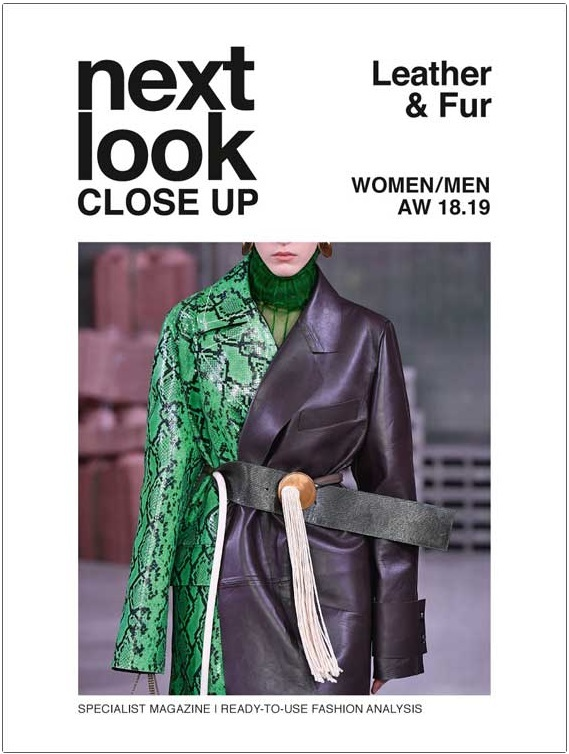 Next Look Close Up Women-Men Leather + Fur (Italy) Magazine