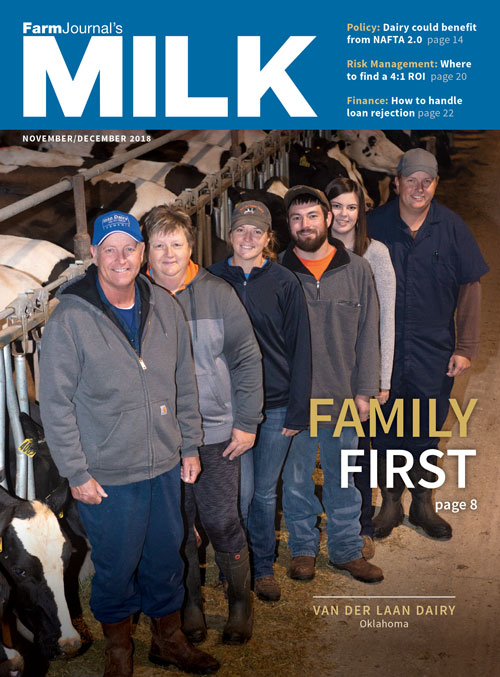 MILK (Farm Journal) Magazine Cover