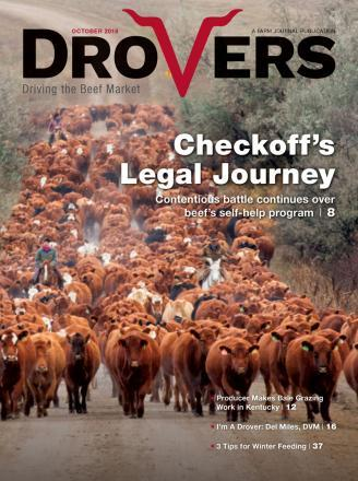 Drovers Cattle Network Magazine Cover