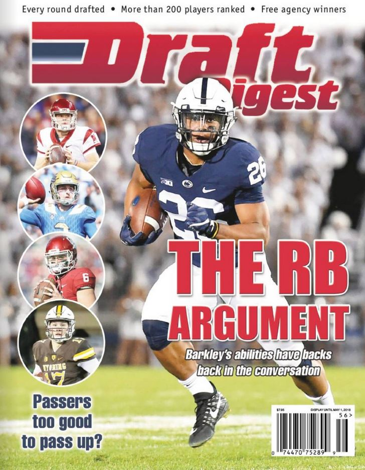 Draft Digest Magazine Cover