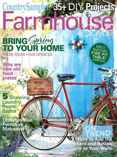 Farmhouse Style Magazine Subscription Cover
