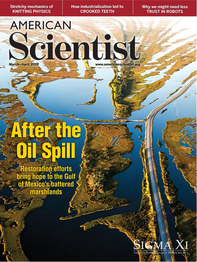 American Scientist Magazine Subscription Cover