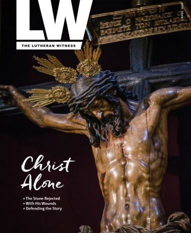 Lutheran Witness Magazine Cover