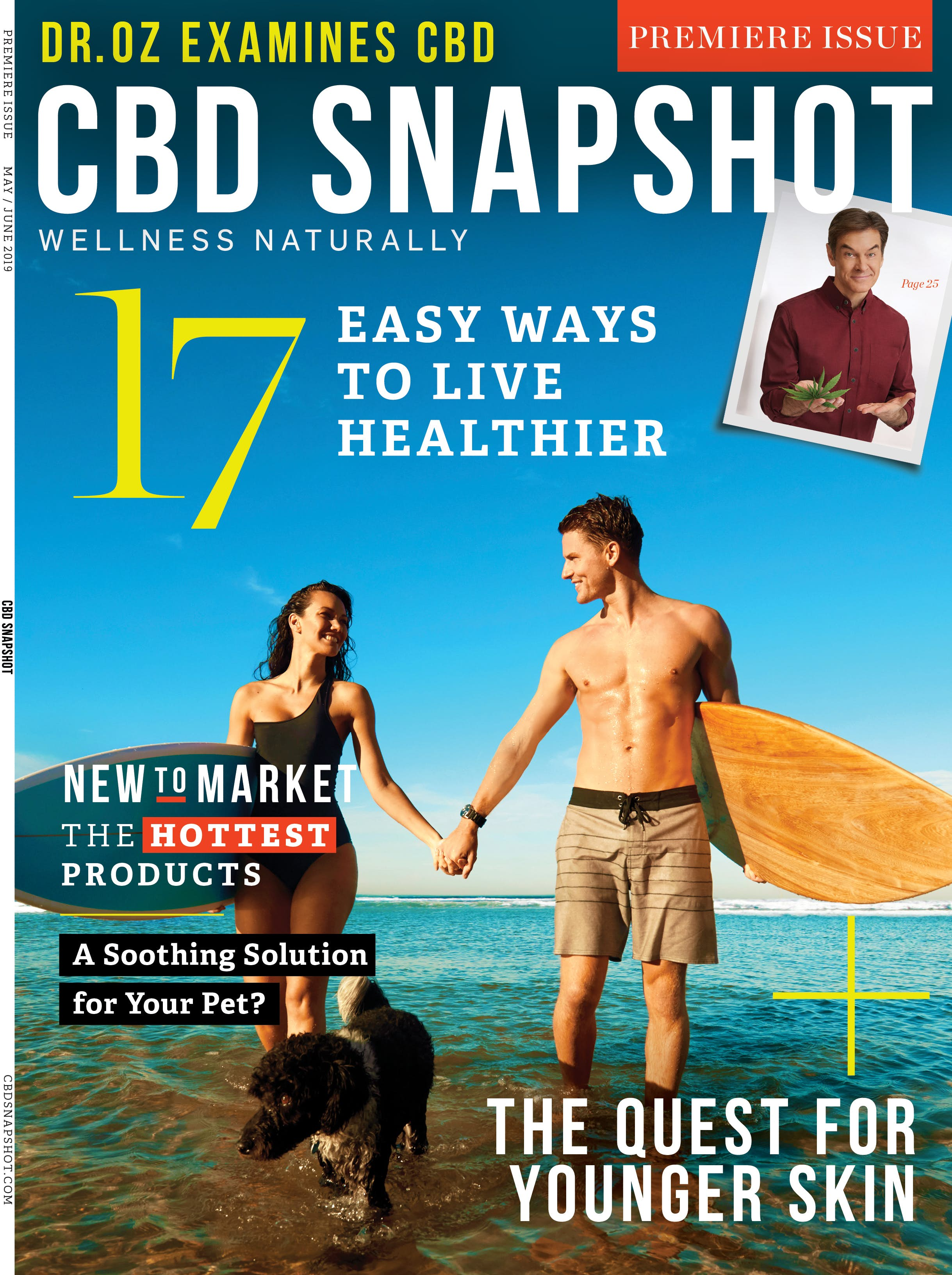 CBD Snapshot Magazine Subscription Cover