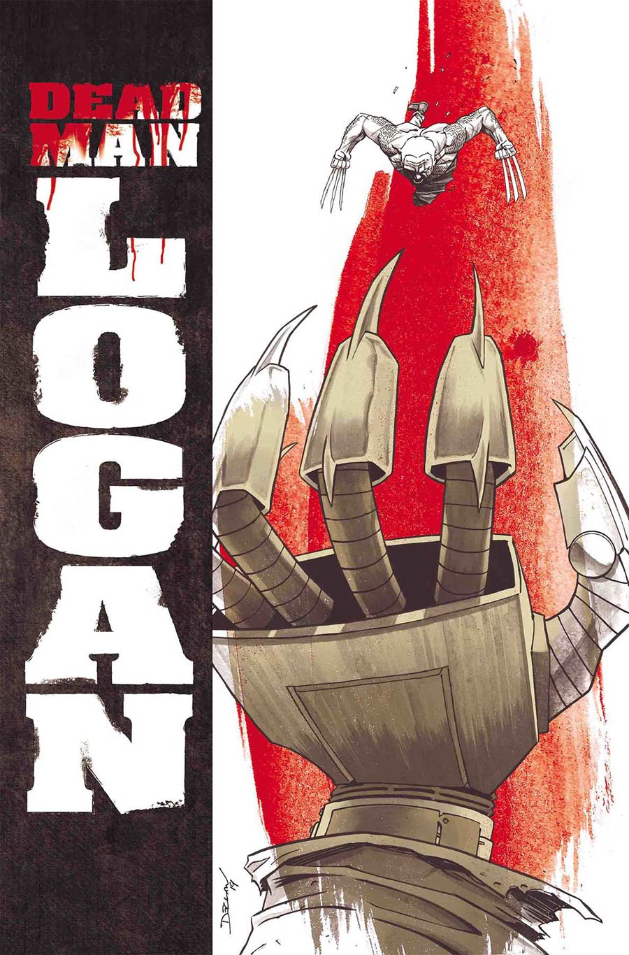 Dead Man Logan Magazine Cover