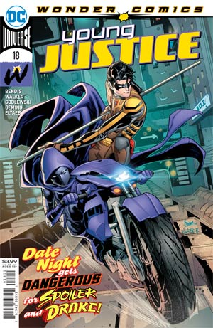 Young Justice Magazine Subscription Cover