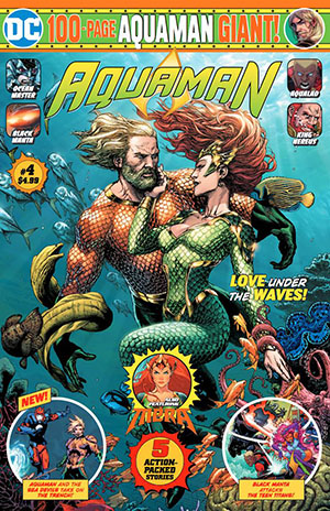 Aquaman Giant Magazine