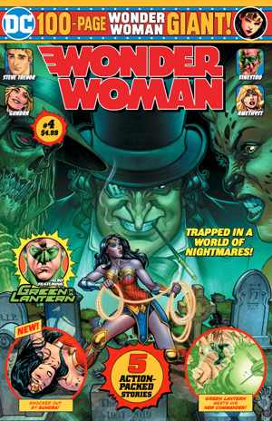 Wonder Woman Giant Magazine Subscription Cover