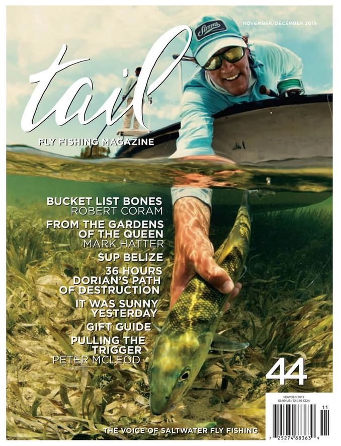 Tail Fly Fishing Magazine Subscription Cover