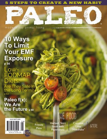 Paleo Magazine Magazine Subscription Cover