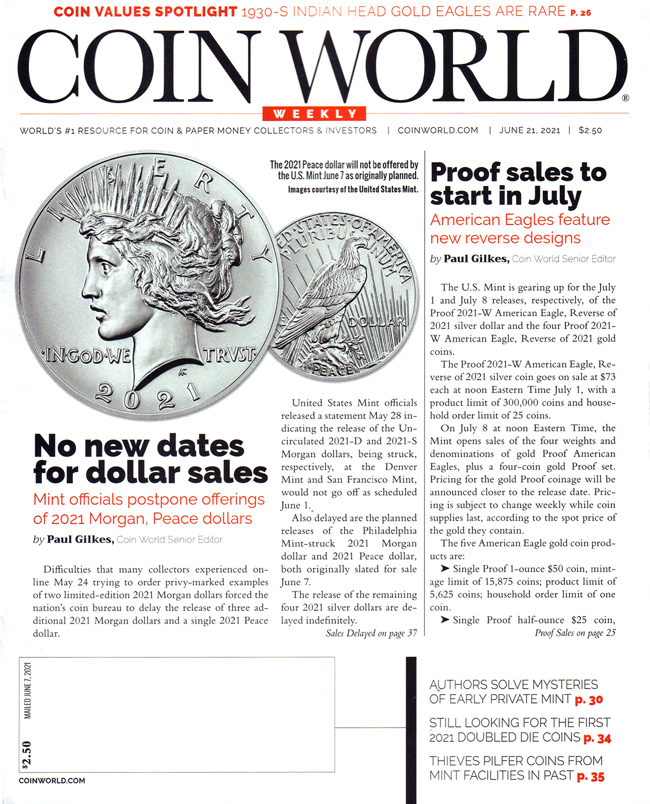 Best Price for Coin World Weekly Magazine Subscription