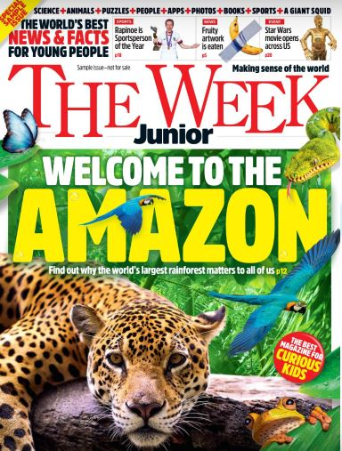 The Week Junior Magazine Cover