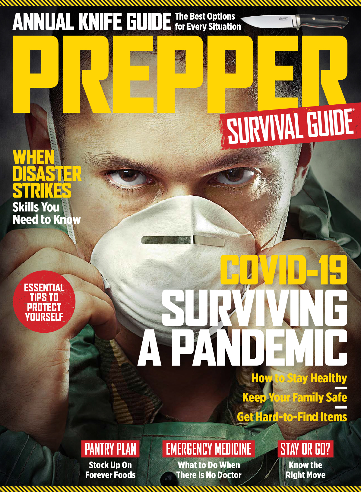 Prepper Survival Guide Magazine Subscription Cover