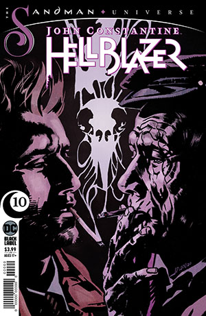 John Constantine Hellblazer Magazine Subscription Cover