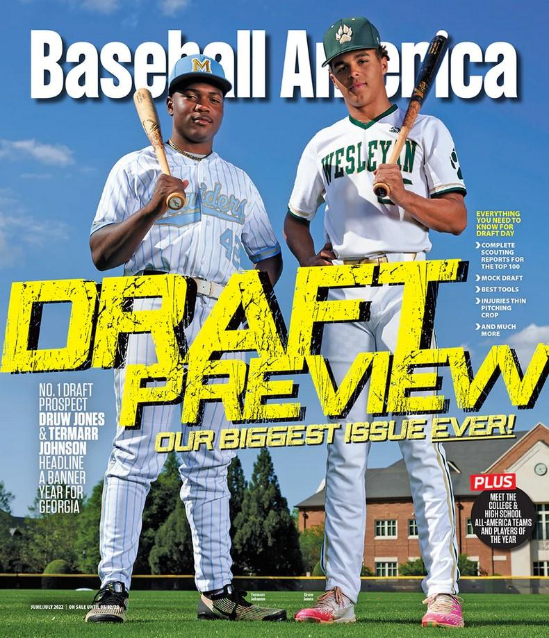 Baseball America Magazine Cover