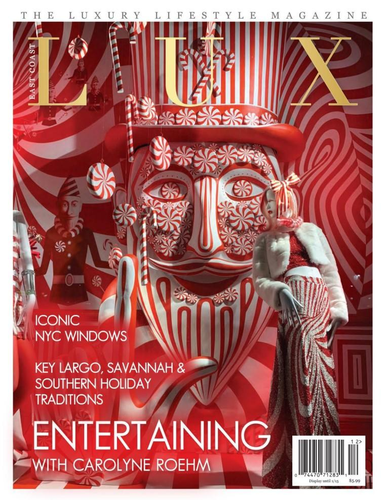 East Coast Lux Lifestyle Magazine Subscription Cover