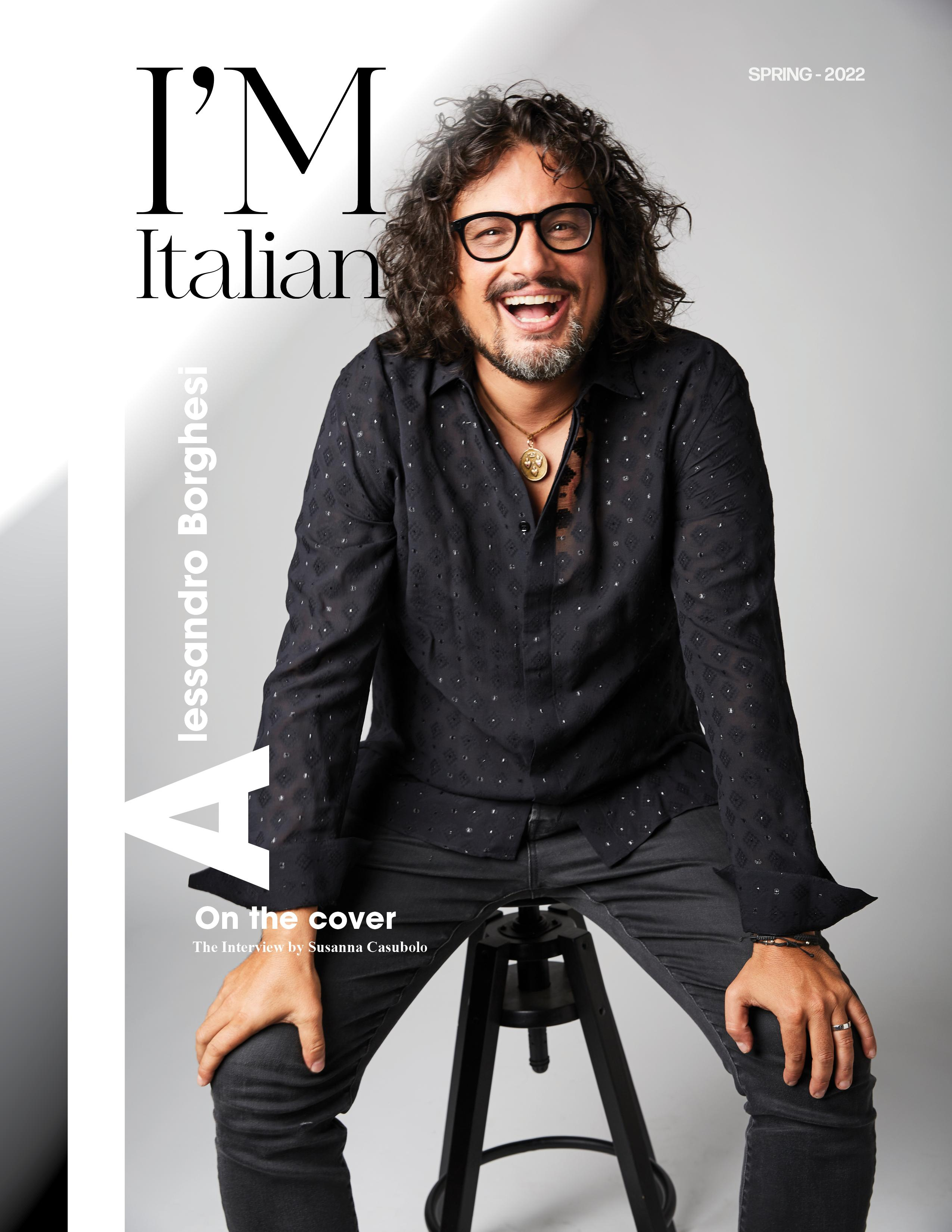 I'M Italian Magazine Subscription Cover