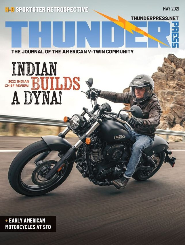 Thunder Press Magazine Subscription Cover