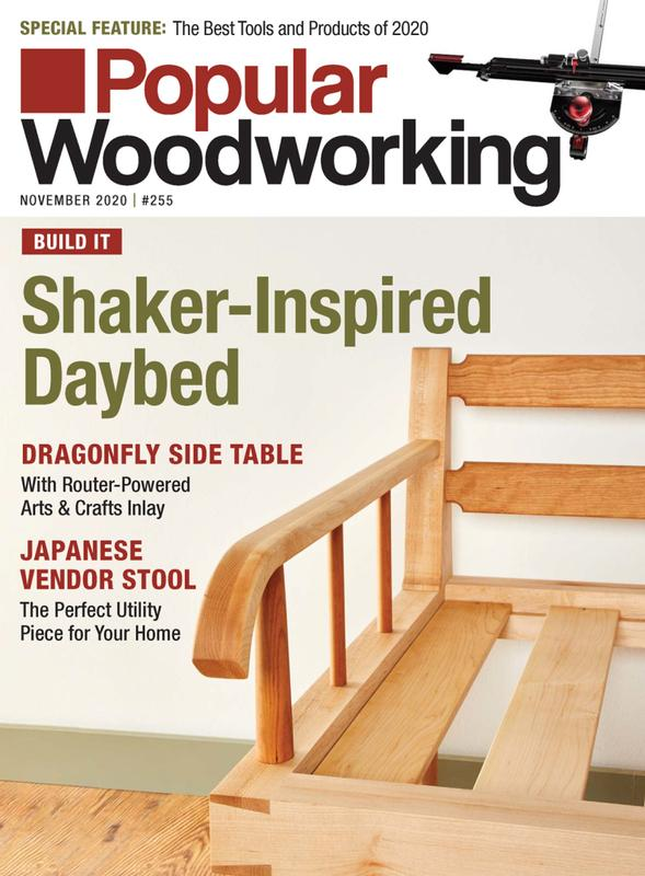 Popular Woodworking Magazine Cover
