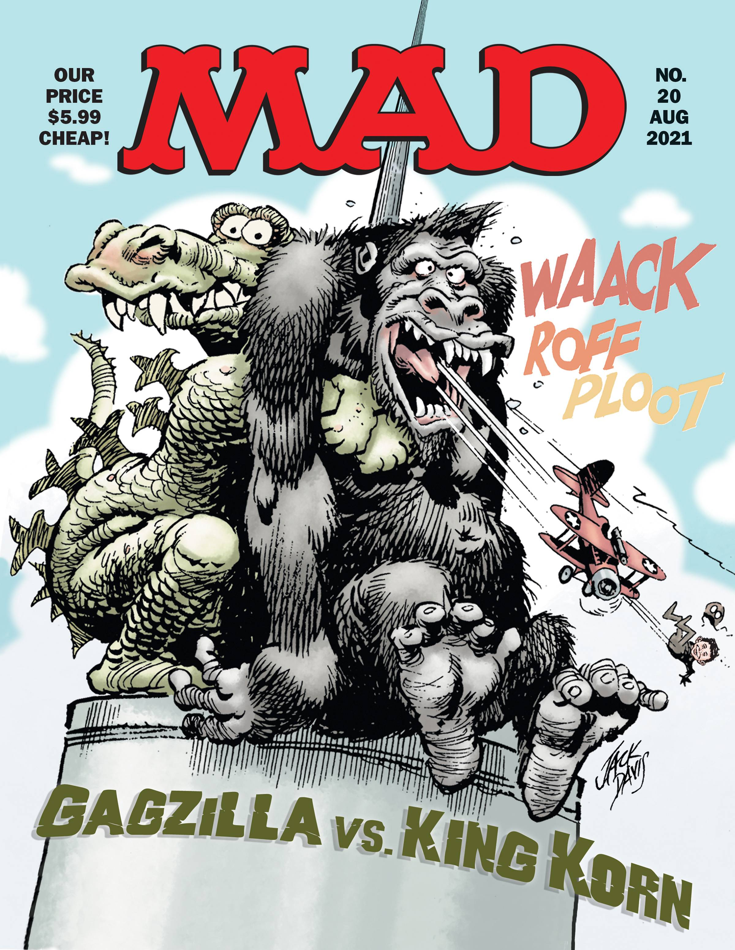 MAD Magazine Magazine Subscription Cover