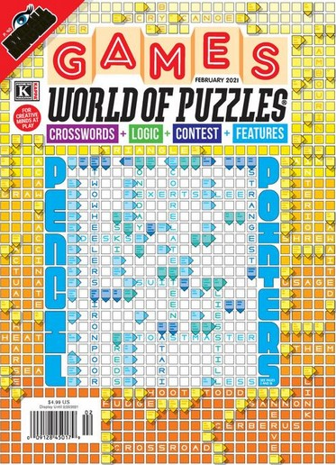 Games World of Puzzles Magazine