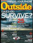 Outside - Digital Magazine Cover